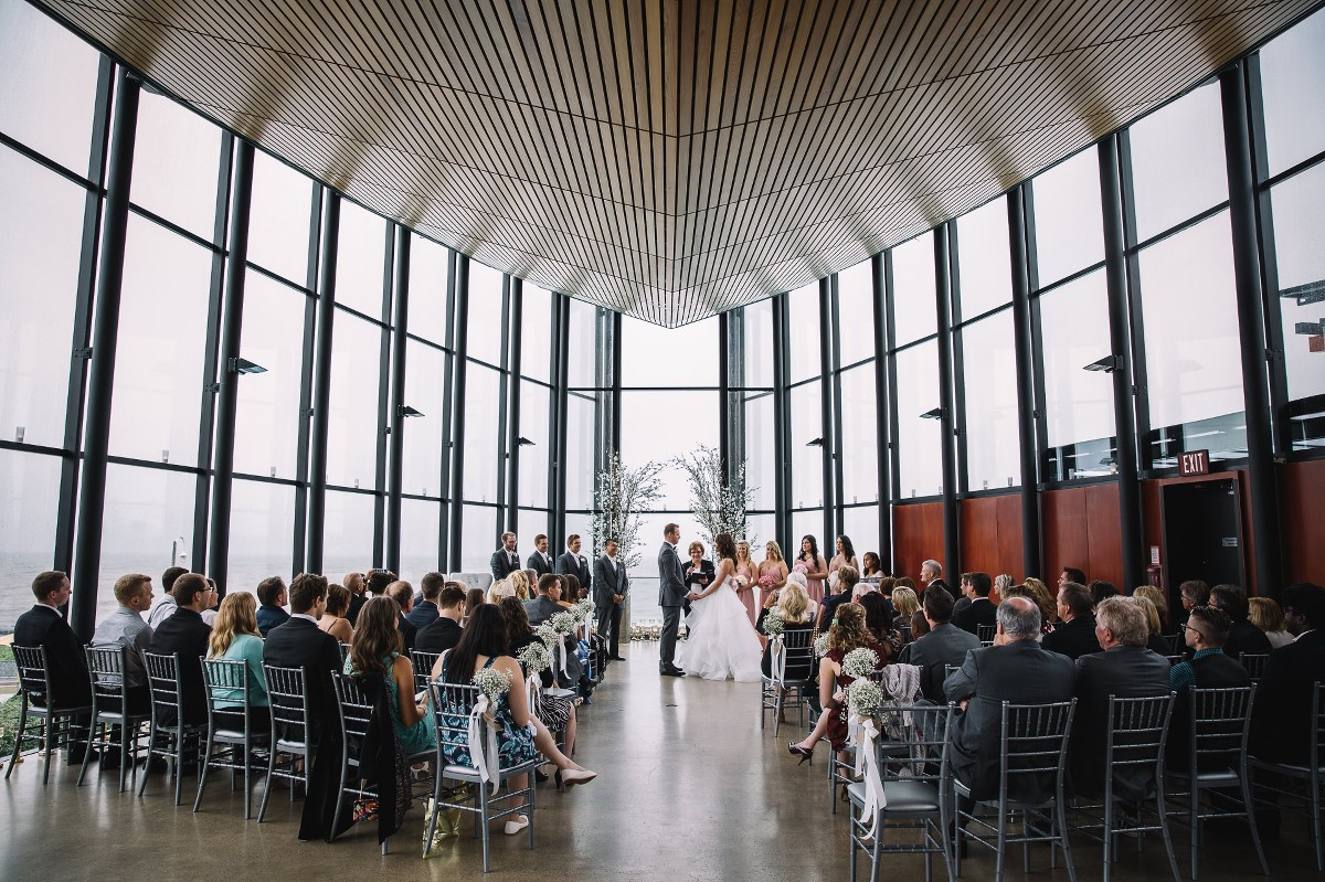 Andrea Rafal Spencer S At The Waterfront Burlington Wedding M M Photography By Martin And