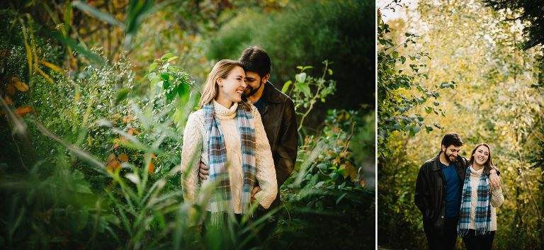 Engagement Session Mill Pond Park Richmond Hill