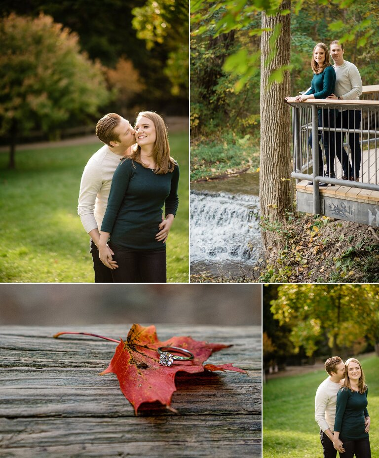 engagement session Waterdown